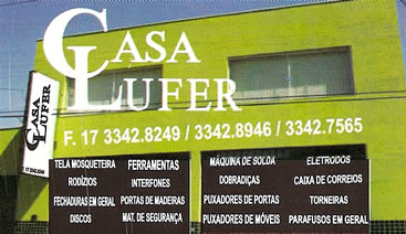 CASA LUFER Bebedouro SP