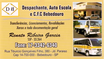 Despachante Auto Escola Bebedouro Bebedouro SP